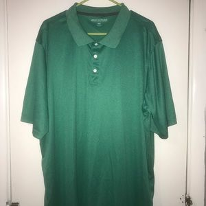 Great Northwest green polo